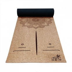 Grip Cork Yoga Mat for Men & Women