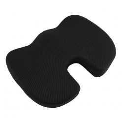 Grip Coccyx Orthopaedic Seat Cushion for Relief from Lower Back Pain