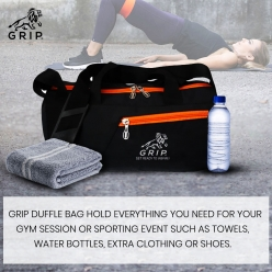 Grip Duffle Bag with perfect design, easy to use features and stylish look