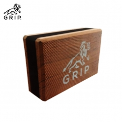 Grip High Density EVA Foam Blocks to Support and Deepen Poses, that Improves, Strengthen, Aid Balance and Increase Flexibility - Lightweight | Odor Resistant | Brown Color