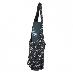 Grip Shoulder Cotton Yoga Bag with a small zip