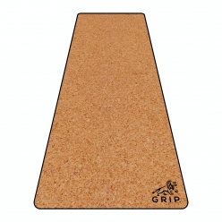 Grip Cork 24 Inches X 72 Inches, 7MM Thickness, Plain Yoga Mats For Men & Women With Carry Strap & Bag.