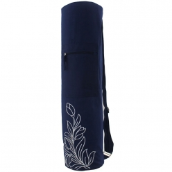 Grip Designer Yoga Bag with a small zipper pocket.