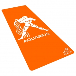 Grip Zodiac Series Yoga Mats 2ft x 6ft with 6mm thickness.