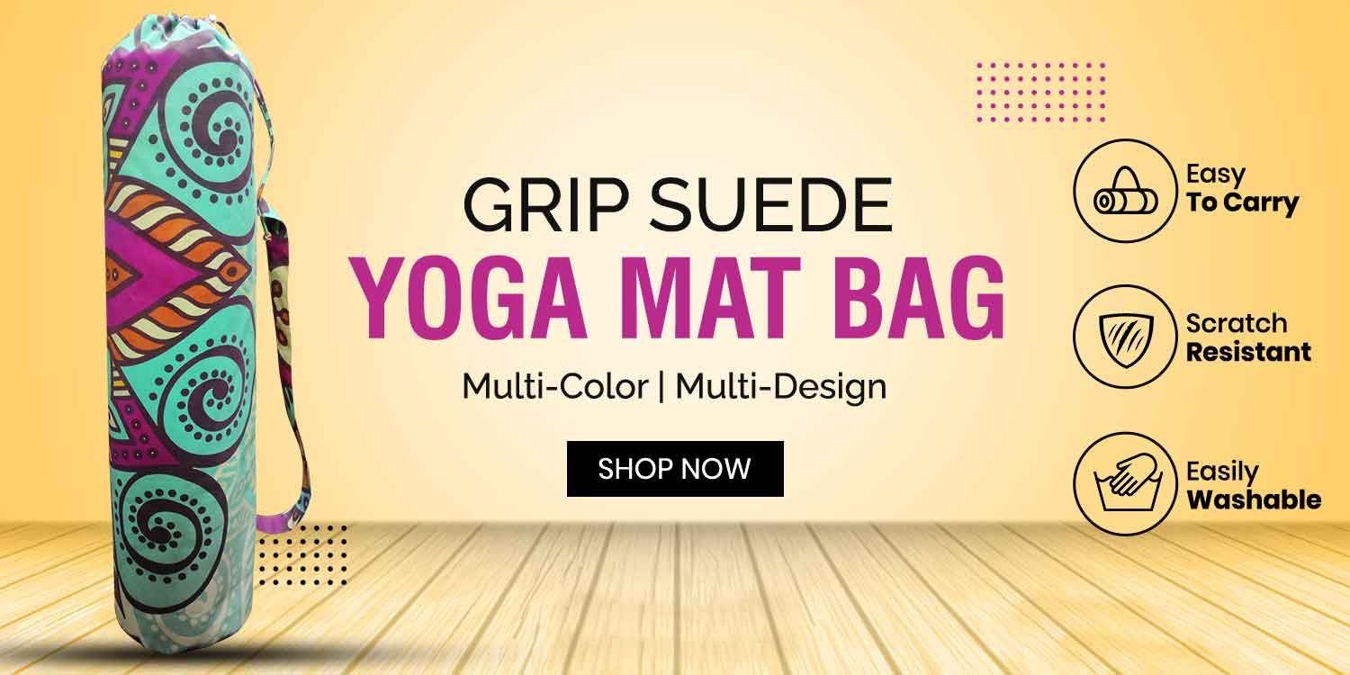 Grip Suede Yoga Mat Bag